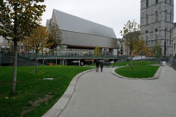 Market Hall, Stadshal Gent by Robbrecht en Daem Architecten and Marie-José Van Hee Architecten, Photo © Petra Decouttere
