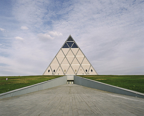 Norman Foster's Pyramid of Peace in Astana